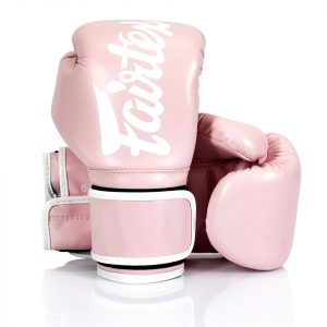 BGV14 Fairtex Light Pink Microfiber Gloves