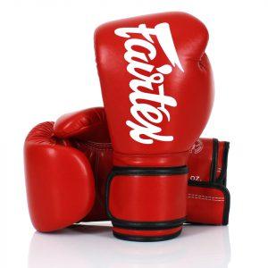 BGV14 Fairtex Red Microfiber Gloves
