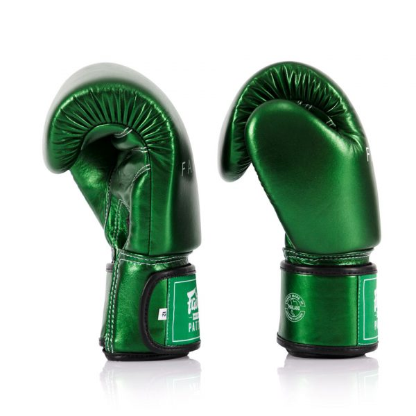 BGV22 Fairtex Metallic Green Boxing Gloves