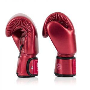 BGV22 Fairtex Metallic Red Boxing Gloves