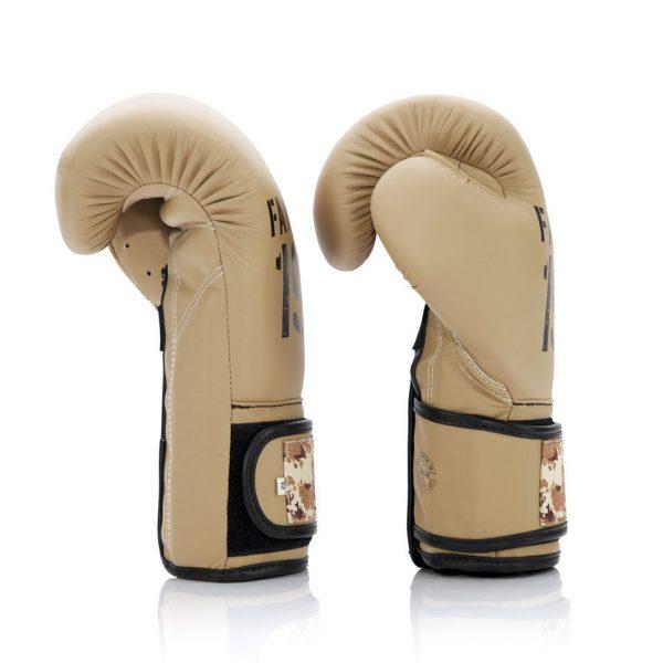 BGV25 Fairtex F-Day 2 Desert Operation Boxing Gloves
