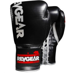 F1 Competitor - Professional Boxing Fight Gloves - Black/Grey