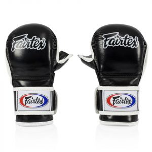 FGV15 Fairtex Black MMA Sparring Gloves