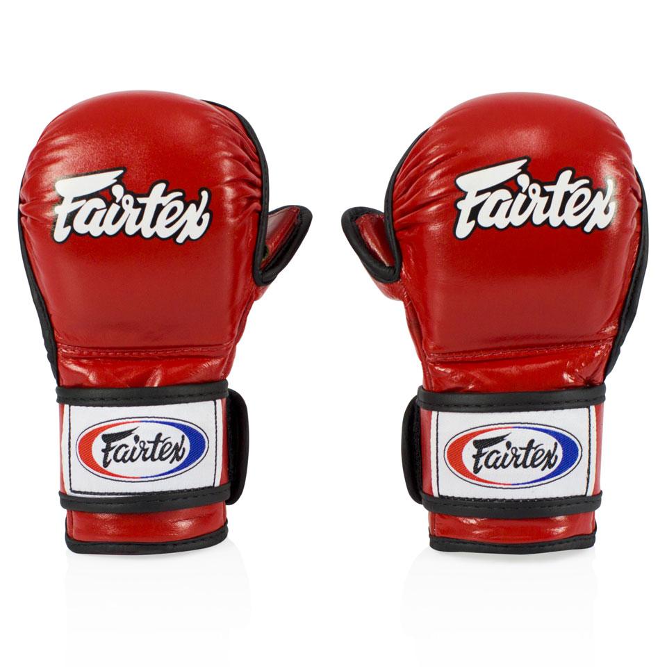 "Femmina | ""Fairtex MMA Sparring Gloves FGV15 Red l"""