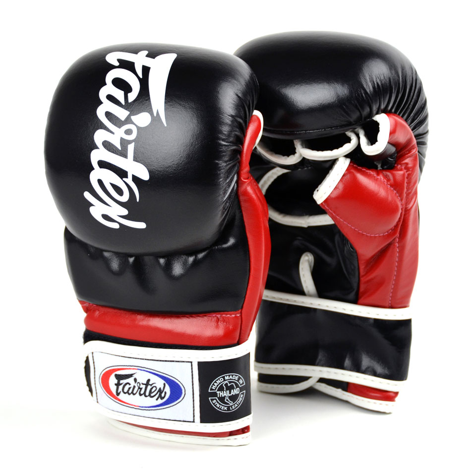 "Femmina | ""Fairtex MMA Gloves FGV18 Black-Red Super Sparring l"""
