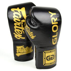 Fairtex Boxing Gloves X Glory BGVG1 Black
