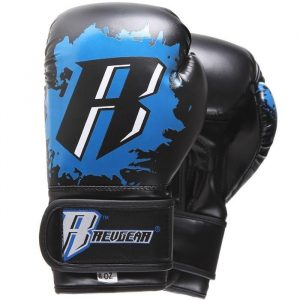 Kids Deluxe Boxing Gloves - Blue