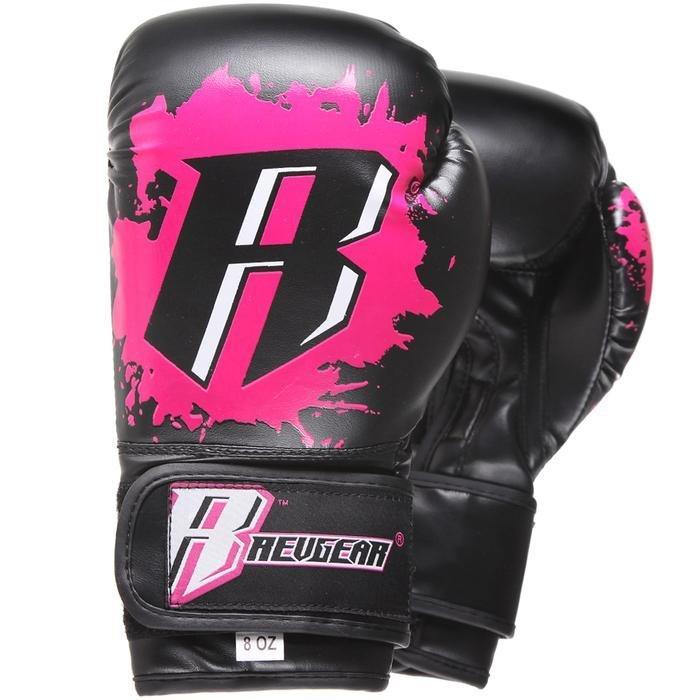 "Femmina | ""Revgear Kids Deluxe Boxing Gloves Pink 6oz"""