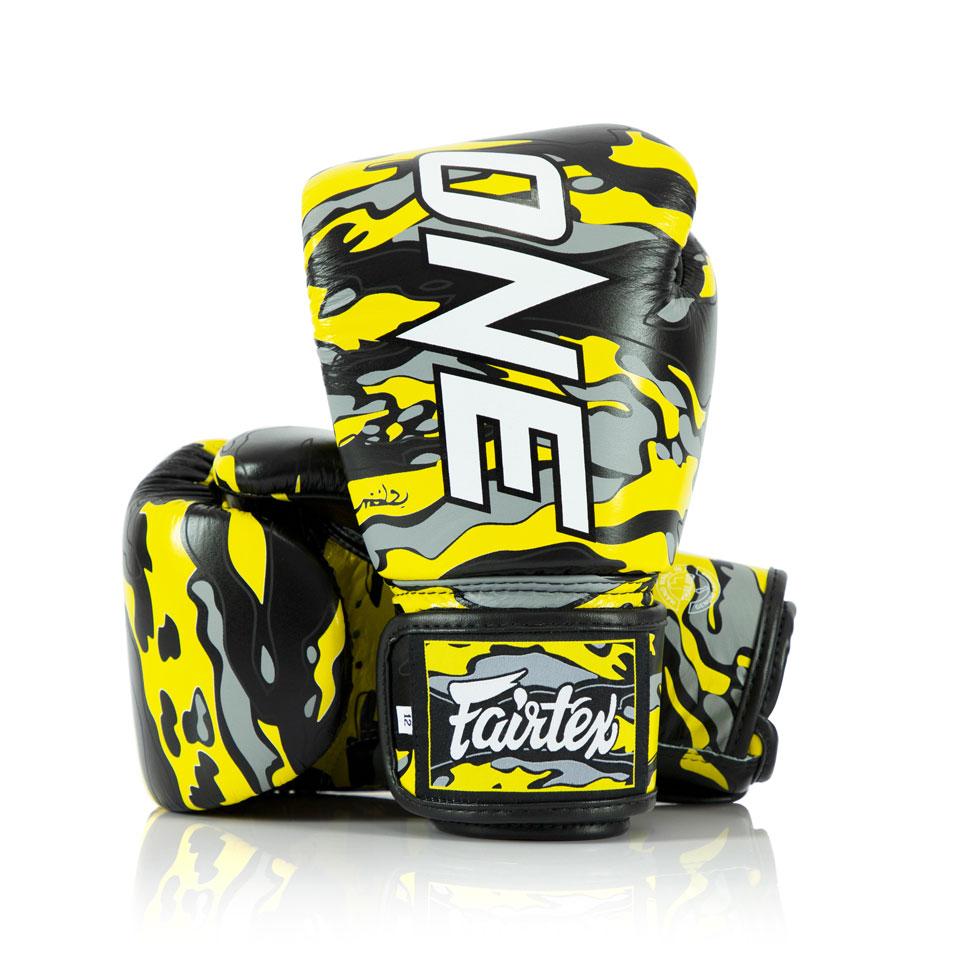 "Femmina | ""Fairtex ONE X Mr.Sabotage Boxing Gloves 10oz"""