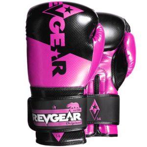 Pinnacle Boxing Gloves- Black Pink
