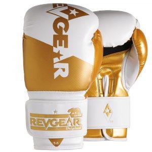Pinnacle Boxing Gloves- White Gold