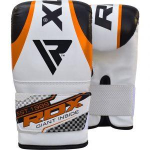 RDX 1O Orange Boxing Bag Gloves
