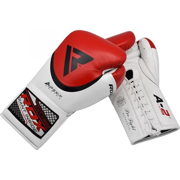 RDX A2 BBBofC Approved Fight Boxing Gloves Red