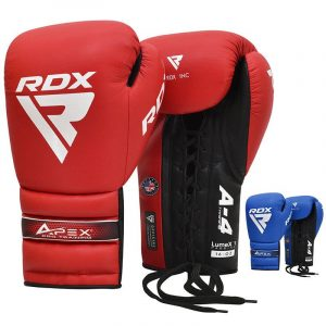 RDX APEX Lace up Training Sparring Boxing Gloves