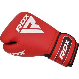 RDX APEX Sparring/Training Boxing Gloves Hook & Loop Red