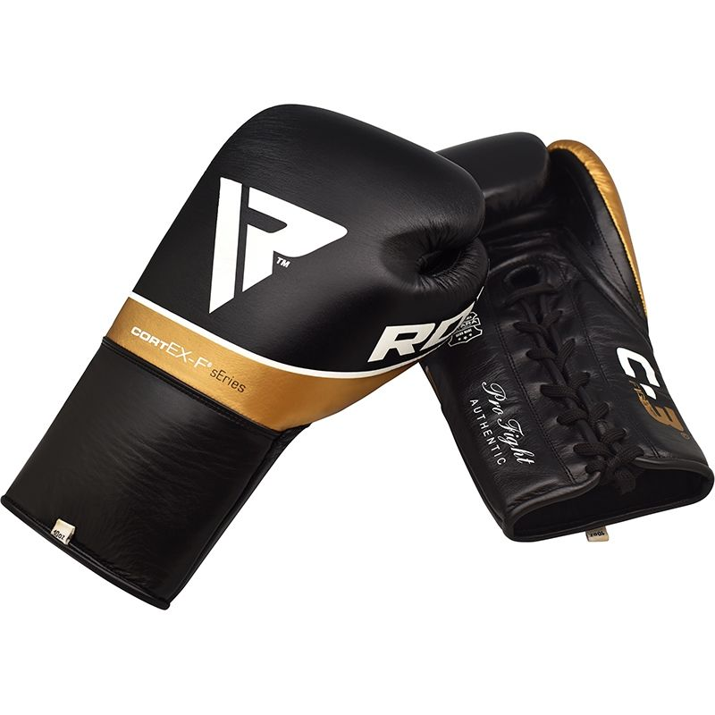 "Femmina   ""RDX C3 BBBofC Approved Fight Boxing Gloves black 8oz"""