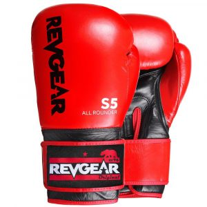 S5 All Rounder Boxing Glove - Red Black