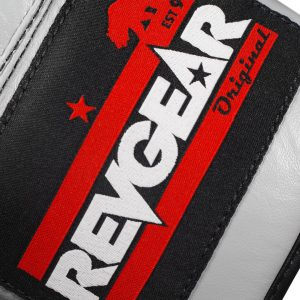 The Revgear F1 Competitor - Professional Boxing Fight Gloves - Grey/Black