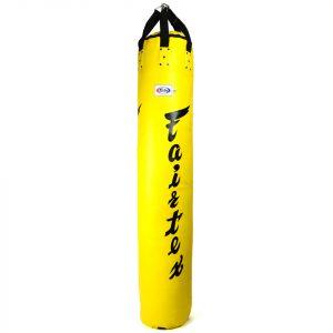 HB6 Fairtex Yellow 6ft Muaythai Banana Bag (FILLED)