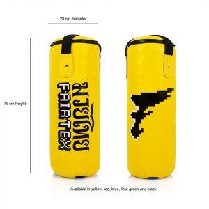 HBK1 Fairtex Kids Punchbag Yellow 75cm (FILLED)