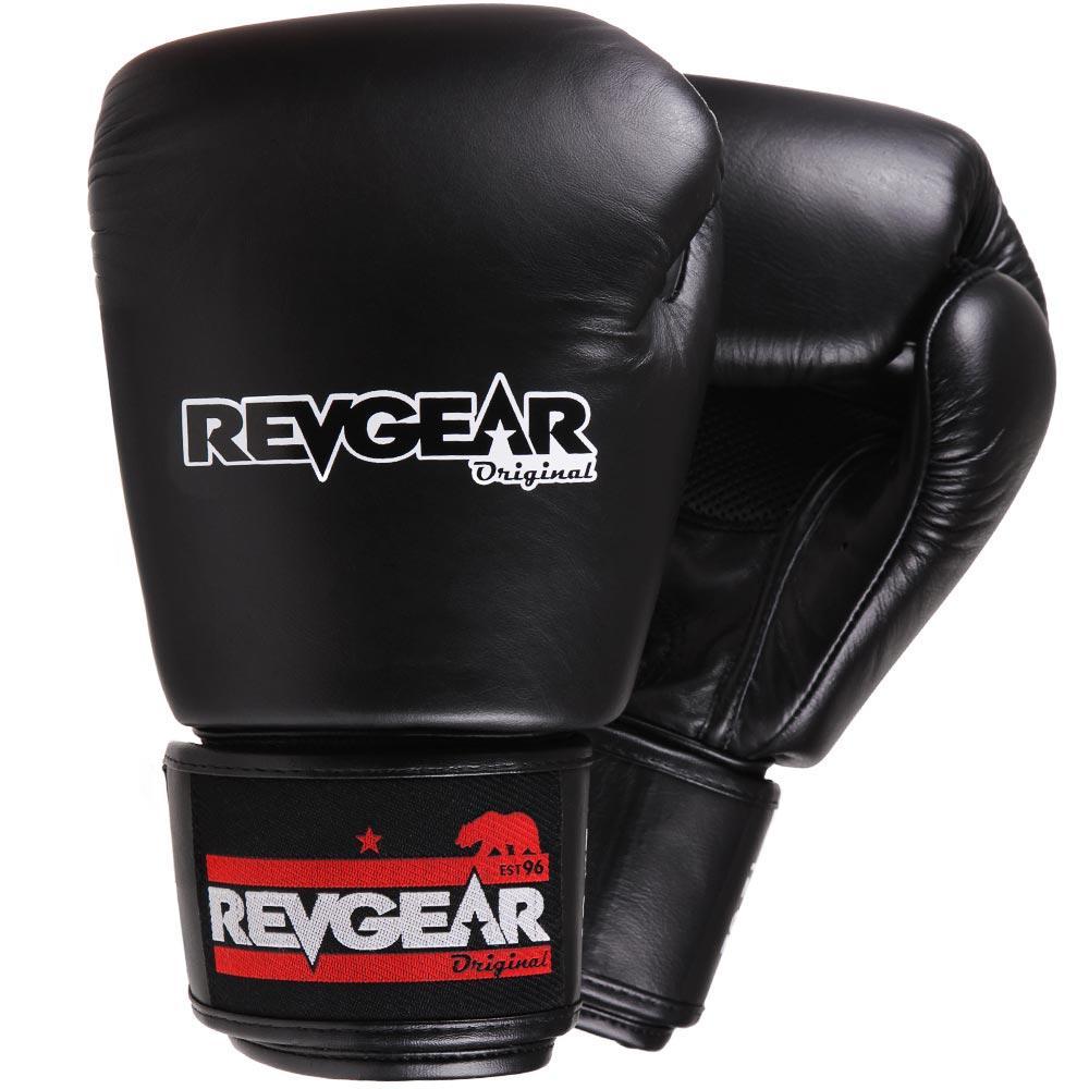 "Femmina | ""Revgear Original Thai Boxing Gloves Black 10oz"""