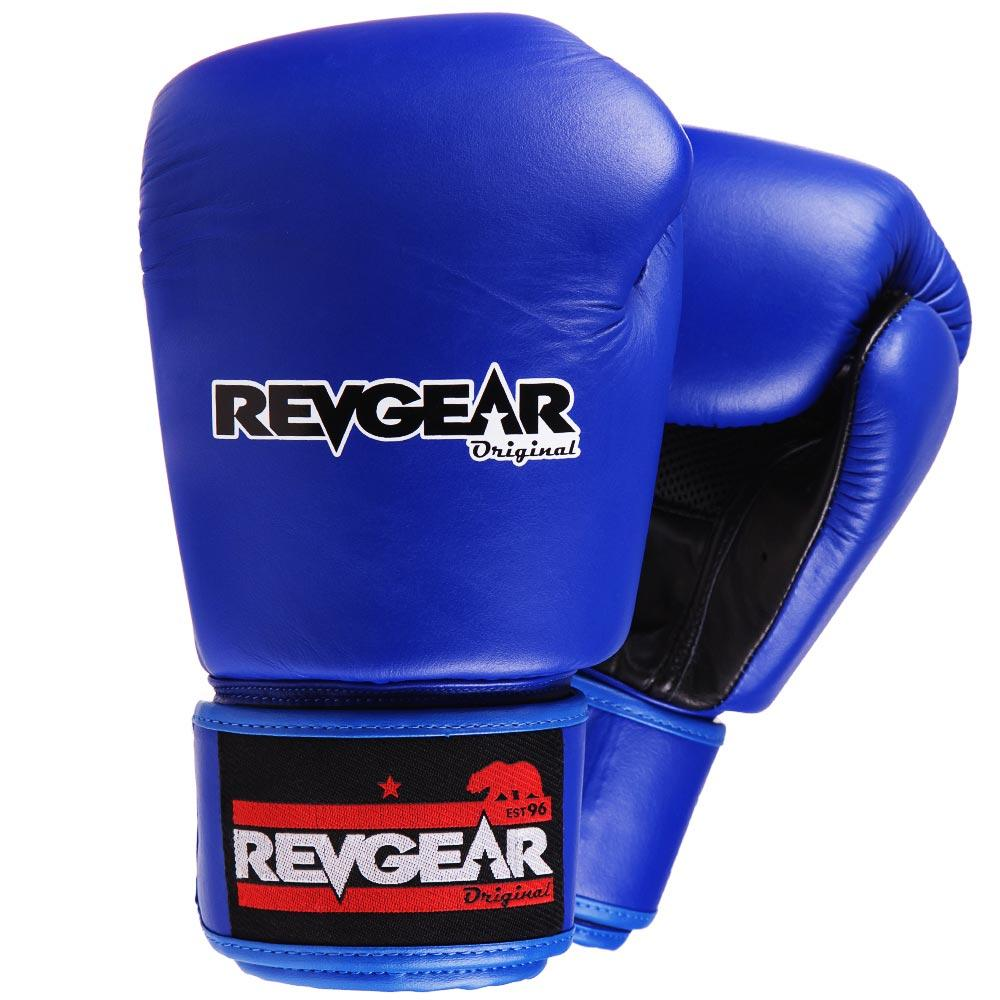 "Femmina | ""Revgear Original Thai Boxing Gloves Blue 10oz"""