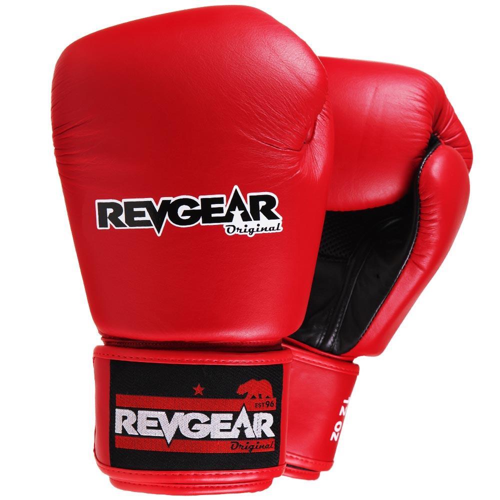"Femmina | ""Revgear Original Thai Boxing Gloves Red 10oz"""