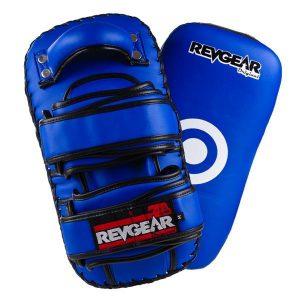 Original Thai Kick Pads - Double Strap Blue
