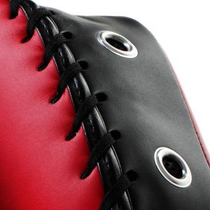 Original Thai Kick Pads - Double Strap Red