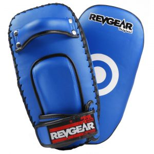 Original Thai Kick Pads - Single Strap Blue