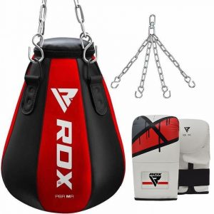 RDX MR 3-in-1 Maize Punch Bag with Bag Gloves Set