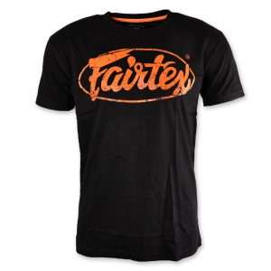 TST148 Fairtex Black-Orange Limited Edition T-Shirt