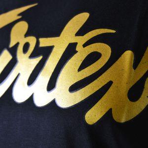 TST177 Fairtex Fight Team Black-Gold T-Shirt