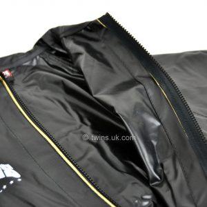 VSS1 Twins Vinyl Sweatsuit Black